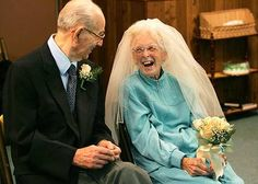 You're never too old for love....