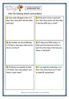 best short division images  maths homeschool homeschooling grade  maths worksheets division  division word problems short  division worksheets