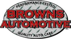 Browns Automotive is your friendly neighborhood auto repair shop! We repair all makes, all models, and vehicles that are under extended warranties.
