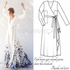 "Instagram'da N E B İ H A N A K Ç A (Nebihan Akça): ""Yaz bitti ama olsun elbise elbisedir bu ... , #AKÇA #ama #bitti #bu #Ç #elbise #elbisedir #İ #Instagram #Instagram39da #NEBİHAN #olsun #yaz Sewing Clothes, Diy Clothes, Clothes For Women, Dress Sewing Patterns, Clothing Patterns, Sewing Patterns Free, Burda Couture, Wedding Dress Sketches, Kate Dress"