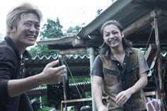 Izaki and Serizawa apparently having a great time || Crows Zero || Sousuke Takaoka + Yamada Takayuki