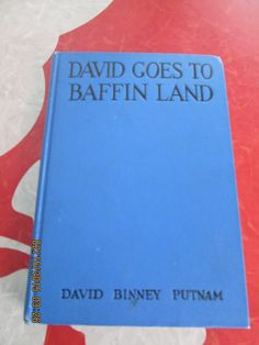 David Goes To Greenland And David Goes To Baffin Land By David Binney Putnam by VintageVeneers on Etsy