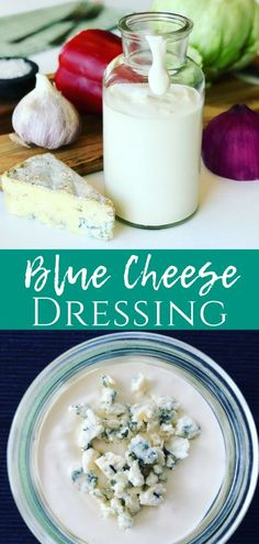 After trying this Homemade Blue Cheese Dressing Recipe, you'll never go back to Kraft again. The best part is that it only takes 5 minutes to make! Perfect for salads, veggies or even on a baked potato. Salad Dressing Recipes, Salad Recipes, Healthy Recipes, Salad Dressings, Delicious Recipes, Savoury Recipes, Dip Recipes, Special Recipes, Great Recipes