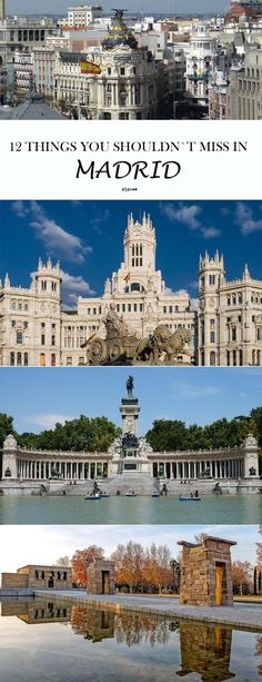 Things to see and do in Madrid, Spain. Travel in Europe.
