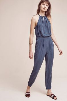 Go By Go Silk Fatale Silk Jumpsuit