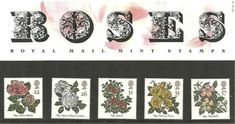 1991 Roses Stamps in gift presentation pack. Collectible vintage mint postage stamps by the Royal Mail Royal Mail Postage, Postage Rates, Types Of Roses, Vintage Stamps, Unusual Gifts, Stamp Collecting, Presentation, British, Packing