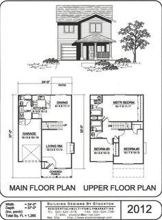 4 Plex Skinny Units Apartment House Plan Ideas