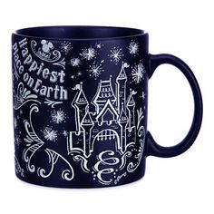 Your WDW Store - Disney Coffee Cup Mug - Chalkboard - Be Our Guest