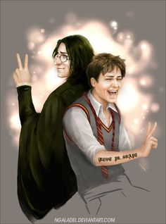 While Mrs Rowling did not see. So hush ^_= The backstage Harry Potter Severus Snape, Harry Potter Potions, Harry Potter Love, Harry Potter Fandom, No Muggles, Harry Potter Artwork, Harry Potter Outfits, Hogwarts, Auburn Hair