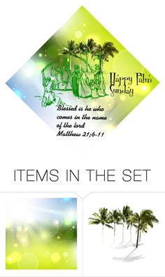 """""""Palm sunday"""" by georgine-d ❤ liked on Polyvore featuring art"""