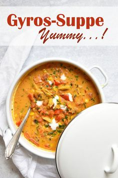 Soup Recipes, Vegetarian Recipes, Pampered Chef, Vegan Life, Kids Meals, Curry, Food And Drink, Veggies, Low Carb