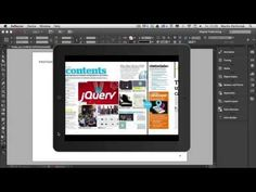 ▶ Digital Publishing With InDesign CC: Types of Interactive Documents - YouTube