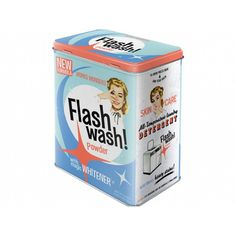 Flash Wash Storage Tin Large