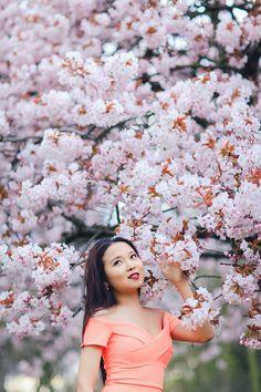 Miss Sakura: Spring Fashion photoshoot in Regent's park, London Lilac Blossom, Cherry Blossom Wedding, Sakura Cherry Blossom, Spring Blossom, Cherry Blossoms, Spring Photography, Glamour Photography, Portrait Photography, Modeling Photography