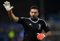 15fe0995e1c Gianluigi Buffon of Juventus warms up before the serie A match between Spal  and Juventus at