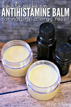 Antihistamine Balm—Are you looking for natural allergy relief remedies or products that works? Learn how to make our DIY antihistamine balm. It combines essential oils with natural ingredients for quick and reliable allergy relief. Natural Home Remedies, Natural Healing, Herbal Remedies, Health Remedies, Holistic Healing, Natural Allergy Remedies, Cold Remedies, Asthma Remedies, Bloating Remedies