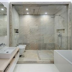 www.homeadore.com  #homeadore #bathroom #shower #interiors #interiordesign #interiordesigns #residence #penthouse #apartment #flat #loft #home #casa #livingroom #kiev #ukraine #2bgroup  Cozy Apartment in Kiev by 2B Group