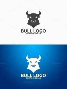 Bull Logo. Logo Templates. $29.00