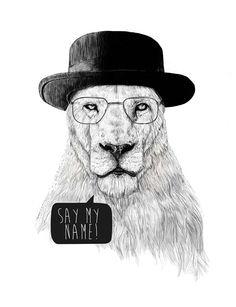 Balazs Solti - say my name. #art #arte #illustrazione #illustration