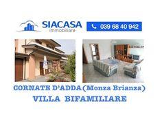 Villa Bifamiliare in Vendita nel Comune di Ornago - Siacasagroup.com