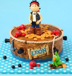 Jake and the Never Land Pirates Cake (from Cake Central member Leonietie)