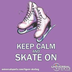 Figure Skating   Universal Sports Network- Figure skating is so delicate and beautiful.... I wanted to be a skater....:)