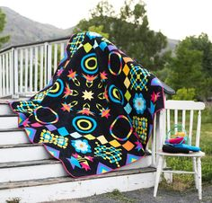 Craftsy's 2016 Block of the Month Quilt