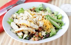 Hungry Girl's Mexi-licious Chipotle Chicken Bowl