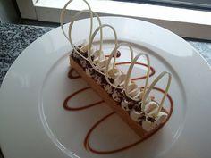 présentation desserts millefeuille revisité vanille praliné facon Christophe Michalak by yann95, via Flickr