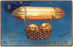 Free Vintage Halloween Pumpkin Image via The Graphics Fairy