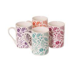 Arabella Mug Set of 4