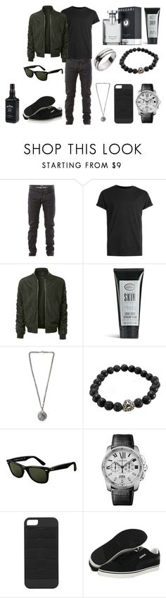 """Без названия #3950"" by southerncomfort ❤ liked on Polyvore featuring Bottega Veneta, Topman, LE3NO, The Art of Shaving, Versus, Ray-Ban, Cartier, Triple C Designs, Puma and men's fashion"