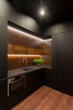 Private office - soesthetic group #design #interior #дизайн #Kyiv #Ukraine #Kitchen #metal #black #soesthetic #soesthetic_group