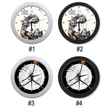 New The Nightmare Before Christmas Wall Clock Black and Silver Home Decoration Nightmare Before Christmas Clock, Cool Clocks, Decoration, Wall, Silver, Black, Home Decor, Cool Watches, Decor