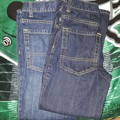 Boys old Navy jeans Boys size 8 regular Nwot one straight leg one bootcut Old Navy Bottoms Jeans