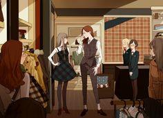 Чтение манги Меган и Даная 1 - 5 - самые свежие переводы. Read manga online! - ReadManga.me