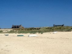Plage de Meneham au nord Finistère - excursion des étudiants de www.ciel.fr