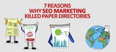 7 Reasons Why Seo Marketing Killed Paper Directories (INFOGRAPHICS)