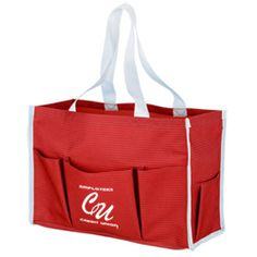 Increase your advertising and imprint this tote fast