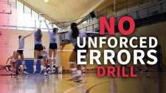 Unforced errors can really hurt your team during a drill. This drill will help your team stop making those errors and giving the other team free points. Volleyball Practice, Volleyball Games, Volleyball Workouts, Volleyball Quotes, Volleyball Motivation, Soccer Training Drills, Volleyball Training, Coaching Volleyball, Girls Softball