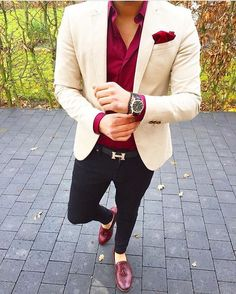 2019 Befitting and Classy Men Suit Fashion - Excelloaded Blazer Outfits Men, Mens Fashion Blazer, Stylish Mens Outfits, Suit Fashion, Casual Outfits, Boy Fashion, Casual Blazer, Casual Attire, Casual Shirt