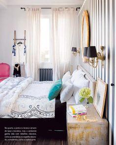 Clássico na medida certa. Veja mais: http://www.casadevalentina.com.br/blog/materia/cl-ssico-na-medida.html #decor #decoracao #interior #design #details #detalhes #home #casa #style #estilo #classic #classico #bedroom #quarto #casadevalentina