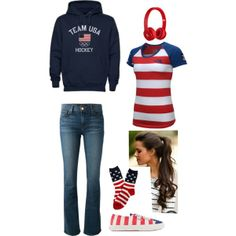 """USA"" by mpatterson3818 on Polyvore"
