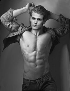 Paul Wesley. This picture i cant stop staring at it gosh. <3 *.*