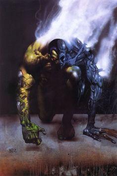 Terminator by Simon Bisley