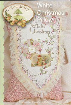White Christmas Pillow Pattern
