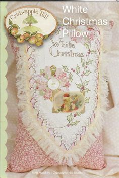 White Christmas Pillow Pattern