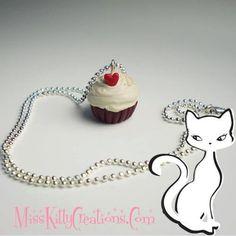 Sweet Valentine Cupcake Charm