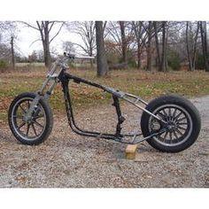 Weld On Frame Hardtail 1979-1981 Rigid Disc Brake Harley Ironhead Sportster XLH
