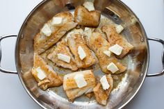 Buttered Cod in Skillet is a great recipe for a quick and simple fish dinner. Cod fillets prepared in under 15 minutes. Fish Recipes Pan Seared, Cod Fillet Recipes, Cod Fish Recipes, Seafood Recipes, Cooking Recipes, Filet Recipes, Keto Recipes, Oven Cooking, Appetizer Recipes